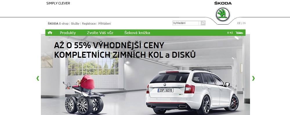 Škoda auto eshop