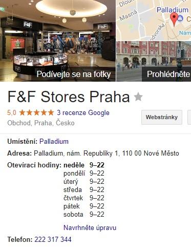 F F móda eshop