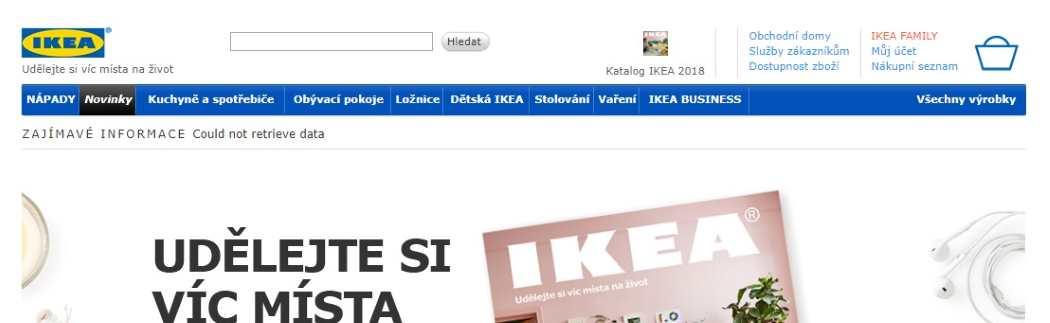 IKEA Eshop online