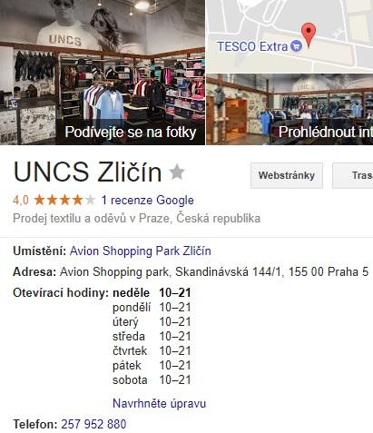UNCS Eshop Uncle Sam recenze