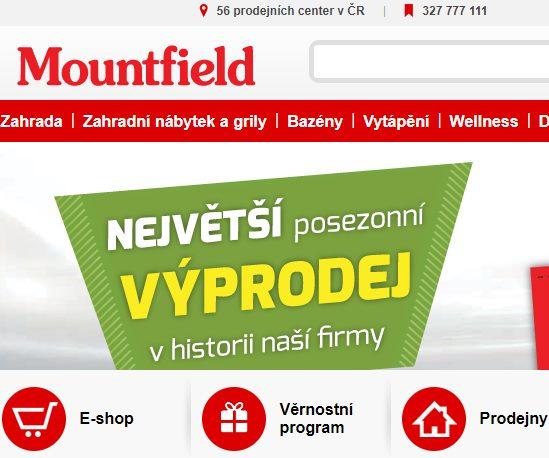 Mountfield eshop