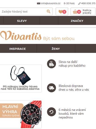 Vivantis e-shop online