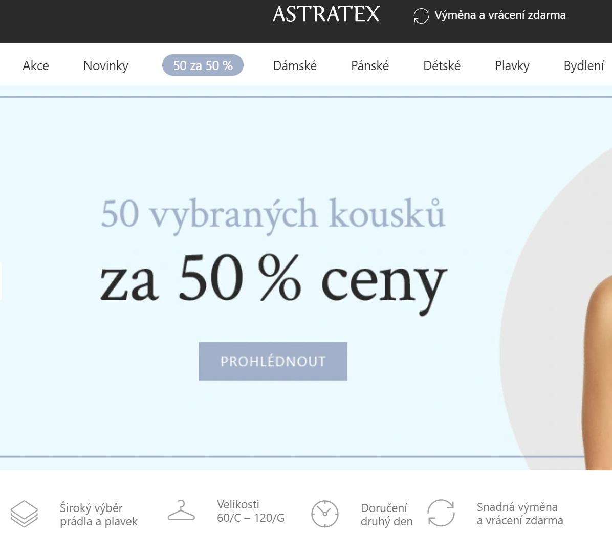 Eshop Astratex reacenze a hodnocení online